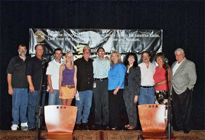 IMMI Records Team and Michael at the Ford Theater in the Country Music Hall of Fame