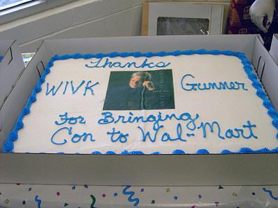 Con Hunley Wivk And Wal Mart Live Remote Jpg 400x300 Happy Birthday Cake Walmart Orlando